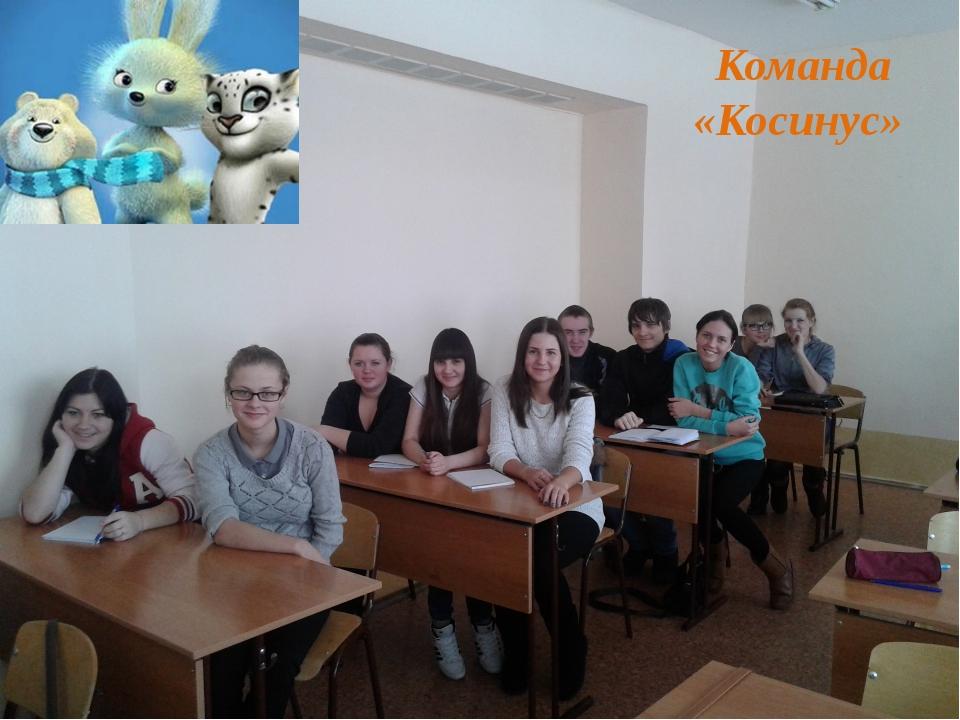 Команда «Косинус»