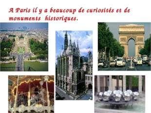 A P A Paris il y a beaucoup de curiosi A Paris il y a beaucoup de curiosités