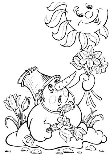 I:\Учитель года мои материалы\моё занятие урок\картинки к уроку\Spring coloring page 9.jpg