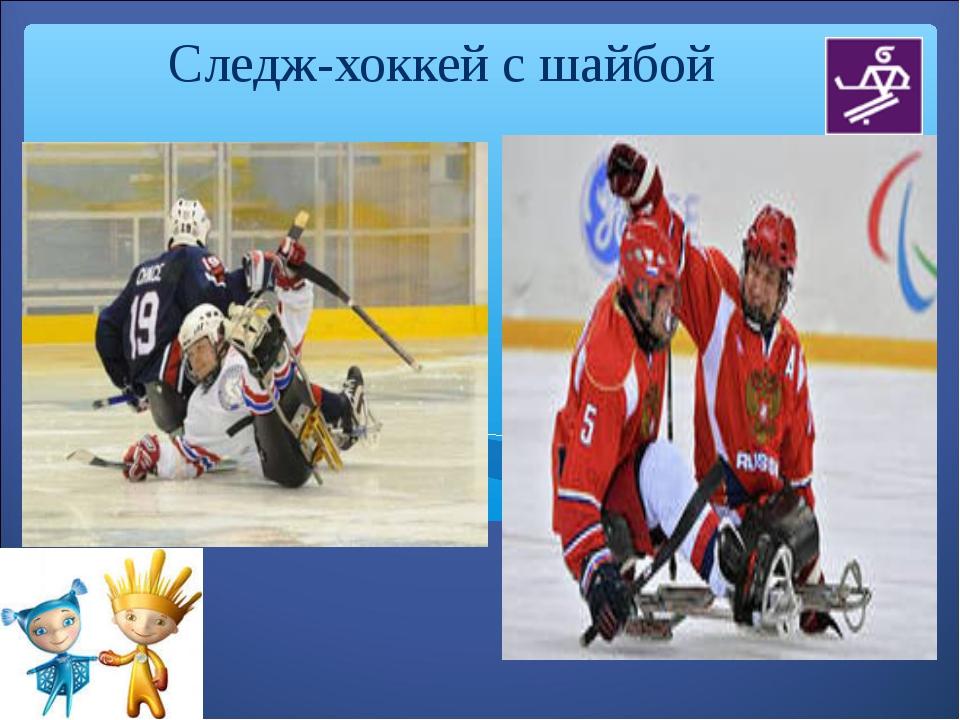 Следж-хоккей с шайбой