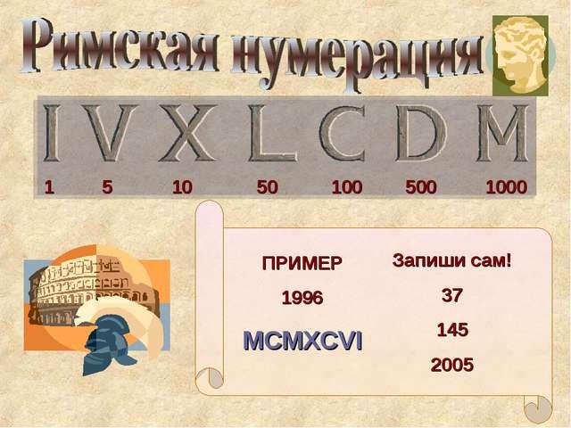 ПРИМЕР 1996 MCMXCVI Запиши сам! 37 145 2005