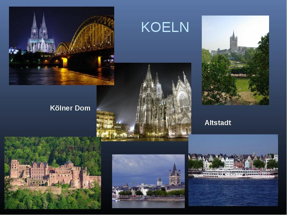 KOELN Altstadt Kölner Dom
