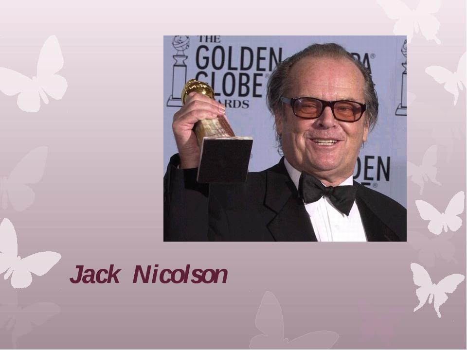 Jack Nicolson