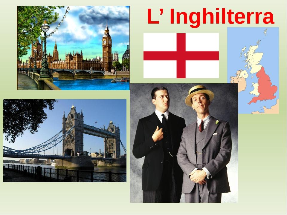 L' Inghilterra