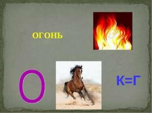 К=Г ОГОНЬ