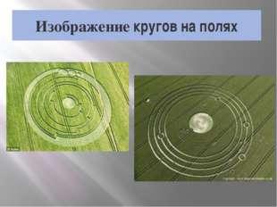 Изображение кругов на полях