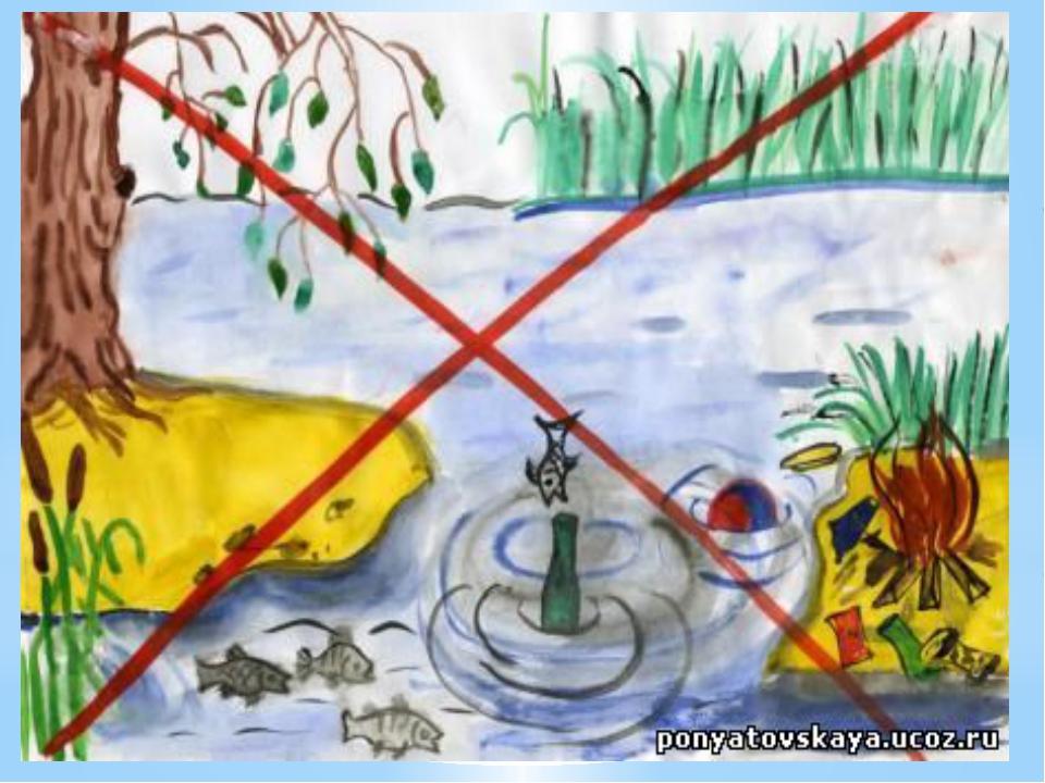 Бросают в речку грязь и мусор, Не любят реченьку свою Ах, если б слышали вы,...