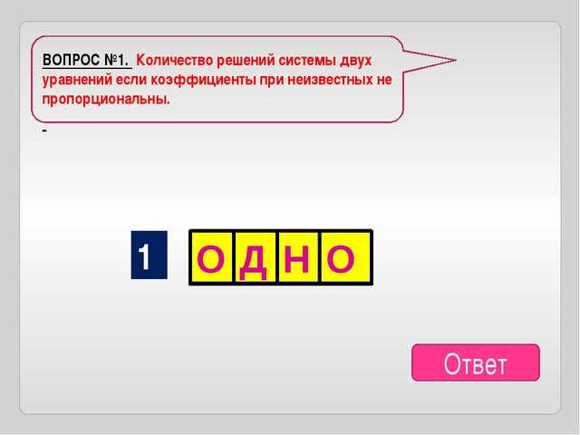 ВОПРОС №4 Пара чисел, удовлетворяющих обоим уравнениям системы. Ответ 4 Е