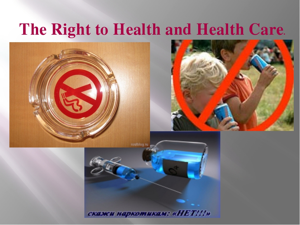 The Right to Health and Health Care.