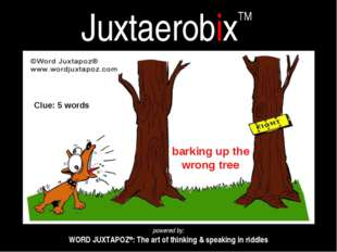 JuxtaerobixTM powered by: WORD JUXTAPOZ®: The art of thinking & speaking in r