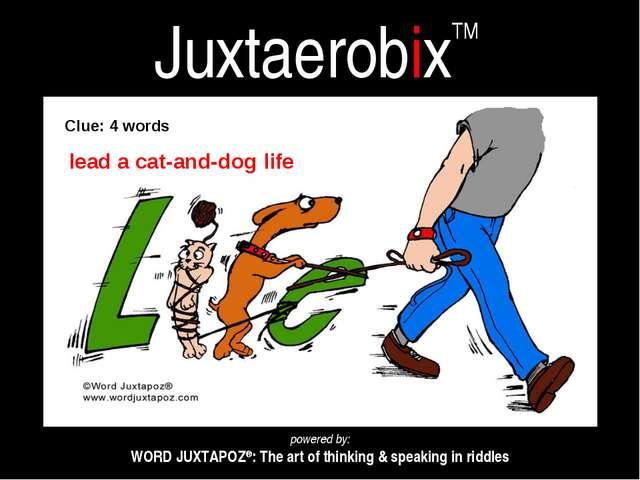 JuxtaerobixTM powered by: WORD JUXTAPOZ®: The art of thinking & speaking in r...