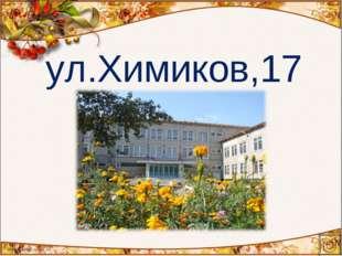 ул.Химиков,17