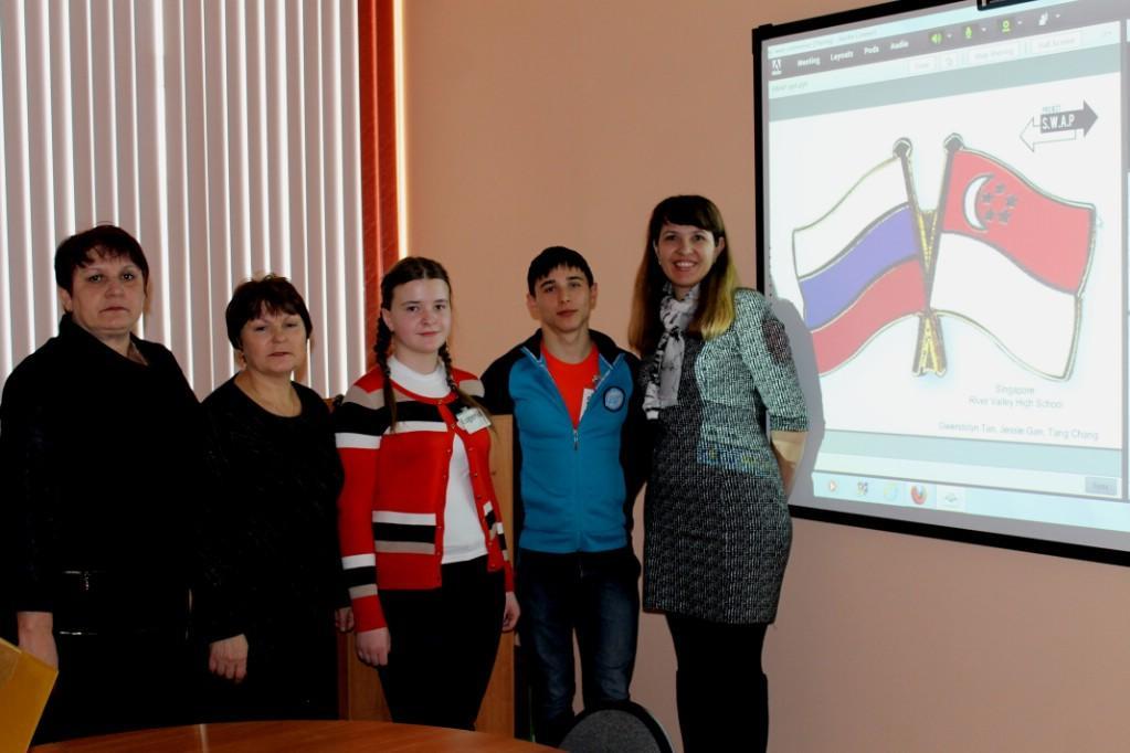 Участники встречи из г. Углегорска
