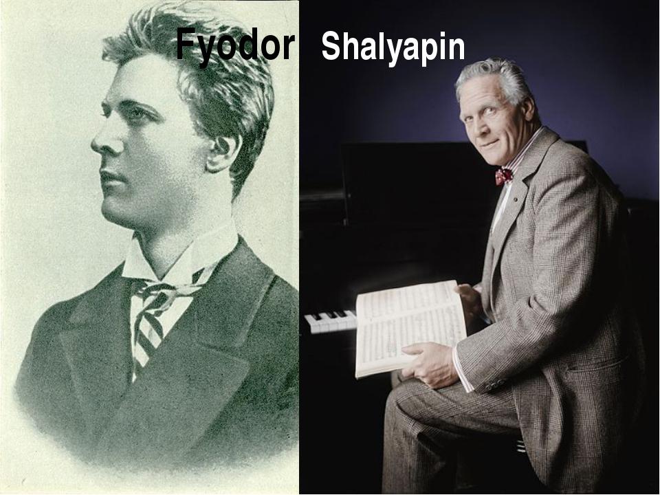 Fyodor Shalyapin