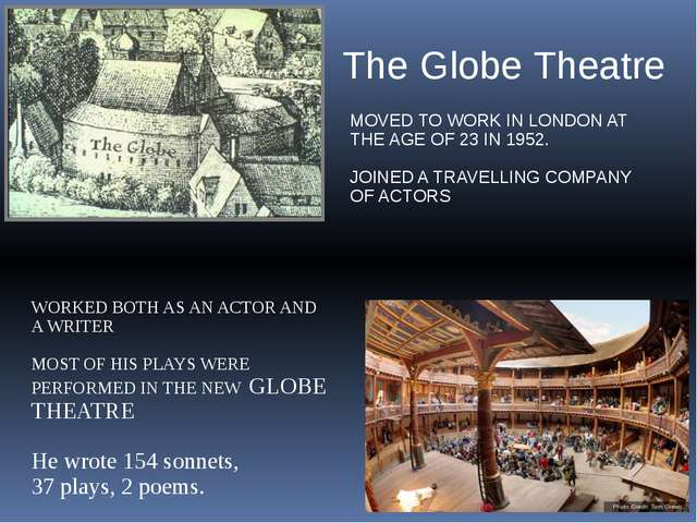 MOVED TO WORK IN LONDON AT THE AGE OF 23 IN 1952. JOINED A TRAVELLING COMPANY...