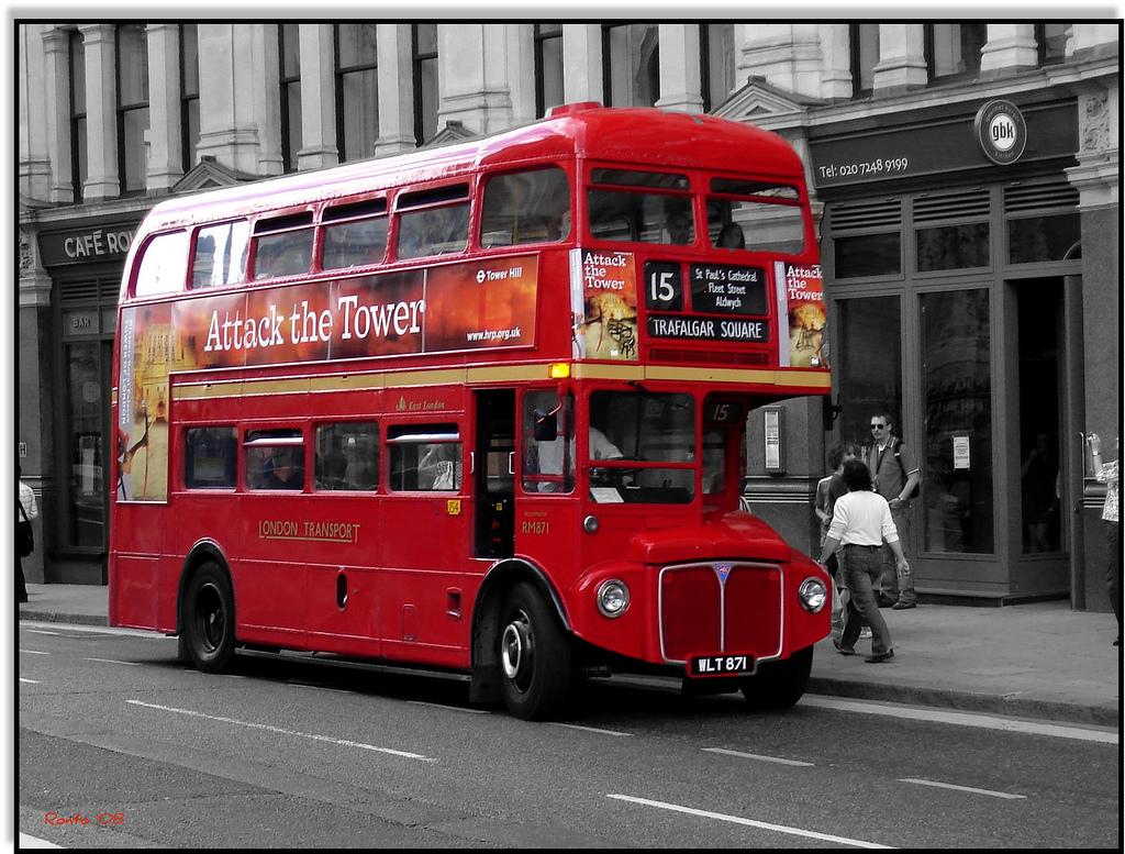 в англии автобусы картинки