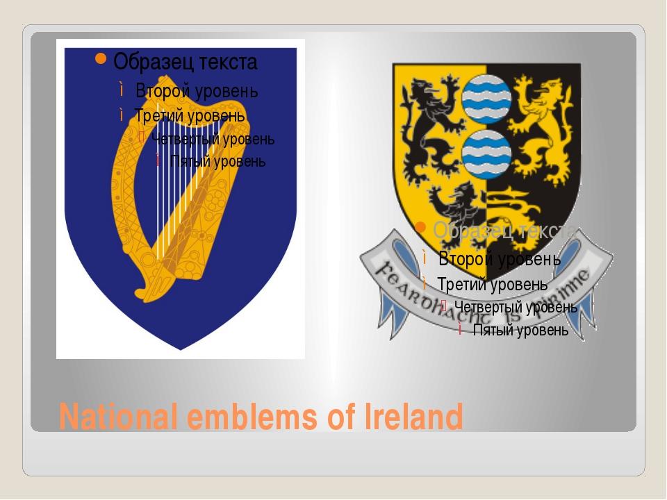 National emblems of Ireland