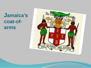 Jamaica's coat-of-arms