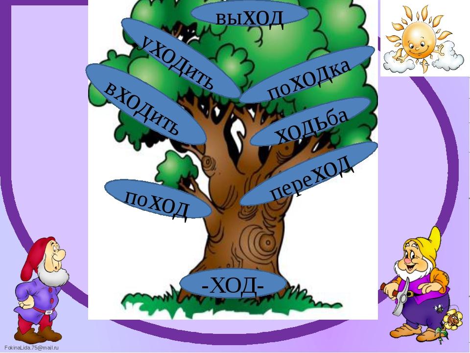 рисунки к проекту семья слов