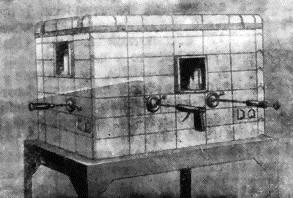 Свинцовая камера для работы с радиоактивными веществами