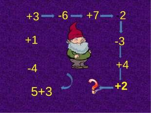 5+3 -4 +1 +3 -6 +7 -2 -3 +4 +2