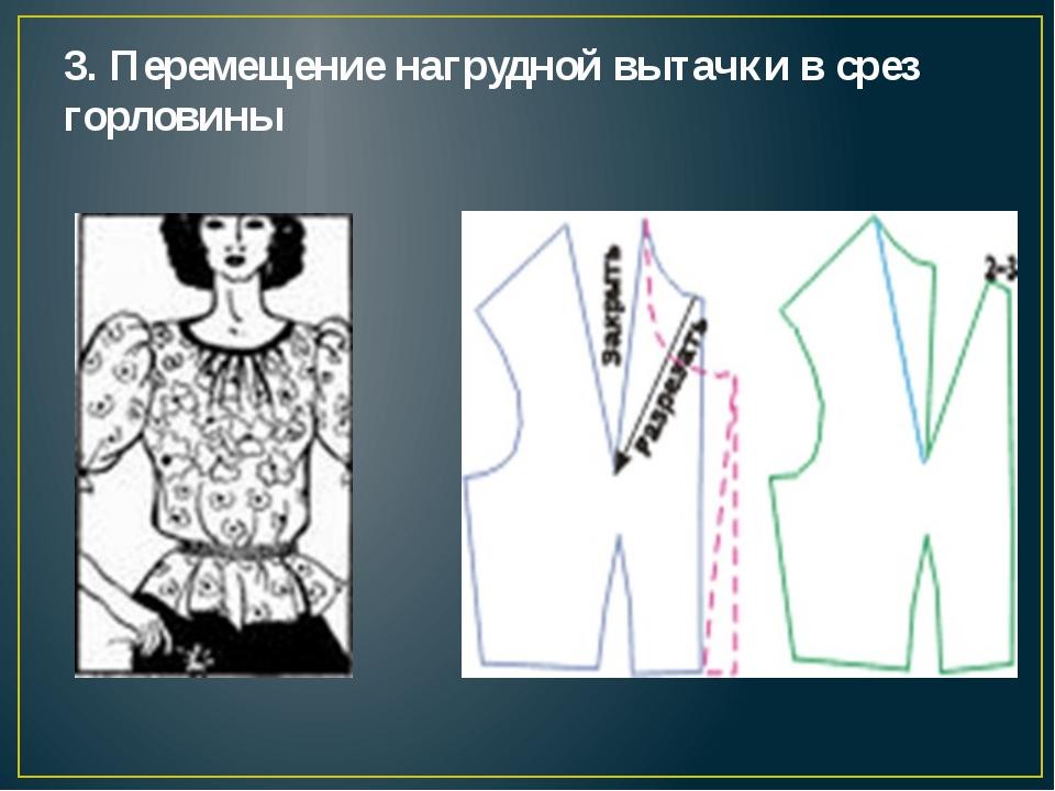 Как сделать разрез горловины платья