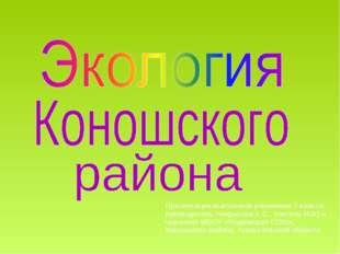 Презентация выполнена учениками 7 класса, руководитель Некрасова Е.С., учител