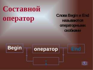 Полный условный оператор выполняется так: b Оператор + Сначала проверяется ис