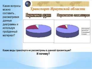 Какие вопросы можно составить , рассматривая данные диаграммы и используя про
