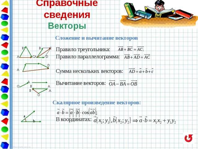 Треугольники Задания первой части (для самостоятельного решения) 1.Используя...