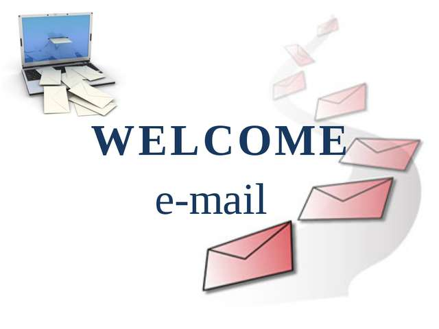 WELCOME e-mail