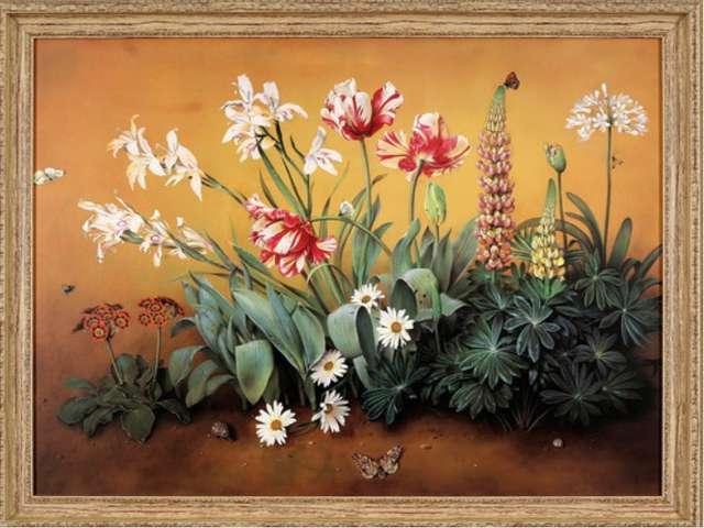 Некоторые из картин просто подмечают красоту природы, которую, порой, мы не...