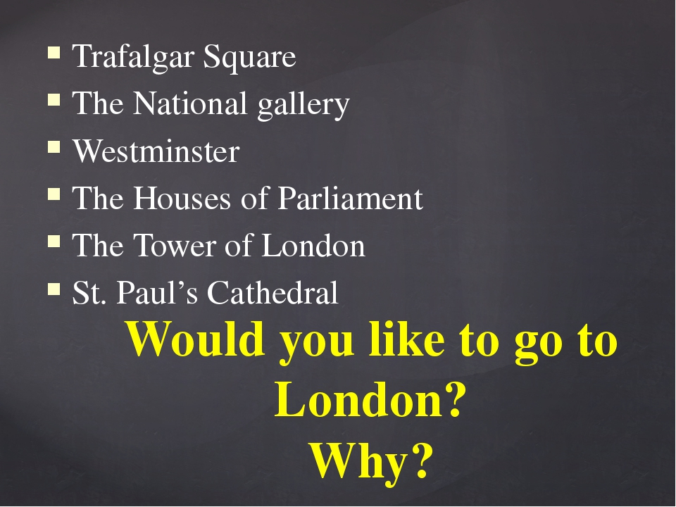 Trafalgar Square The National gallery Westminster The Houses of Parliament Th...