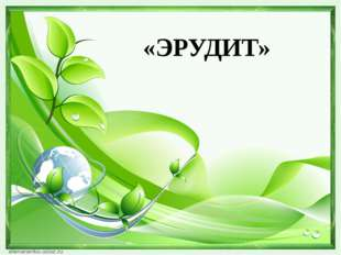 «ЭРУДИТ»
