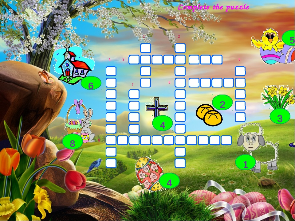 Complete the puzzle 4 3 1 7 8 6 2 5 5 3 2 1 4 8 4 6