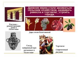 Что нового появилось в жизни древних евреев? Рисунок –реконструкция дома в Па