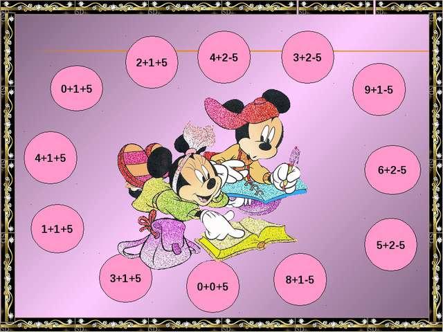 4+1+5 0+1+5 1+1+5 2+1+5 3+1+5 9+1-5 4+2-5 8+1-5 6+2-5 5+2-5 0+0+5 3+2-5