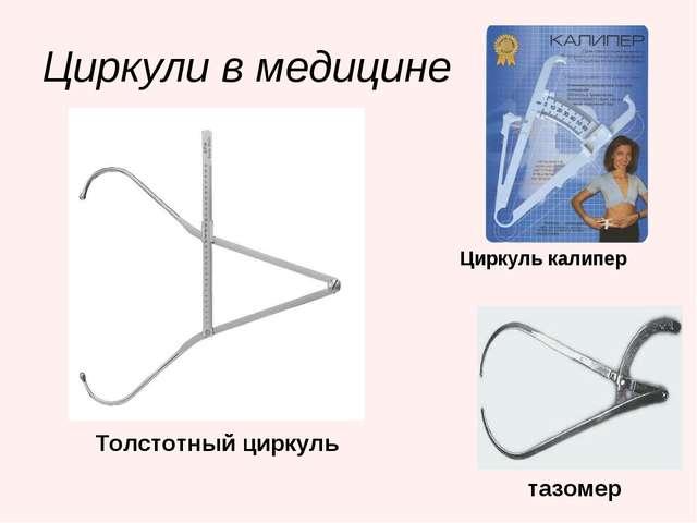 Циркули в медицине Толстотный циркуль Циркуль калипер тазомер