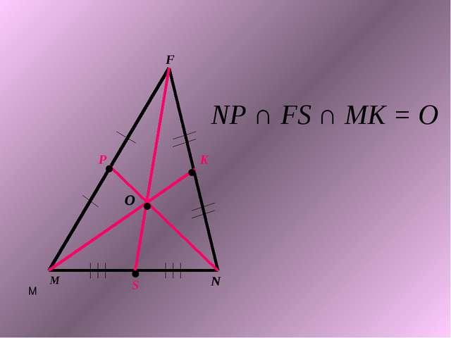 N M M F P K S O NP ∩ FS ∩ MK = O . . . .