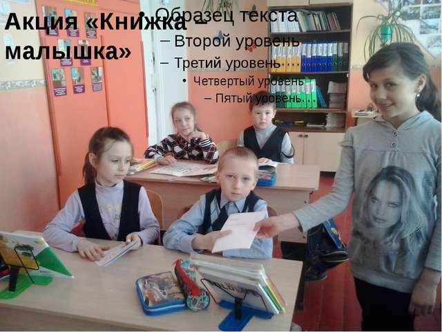Акция «Книжка – малышка»
