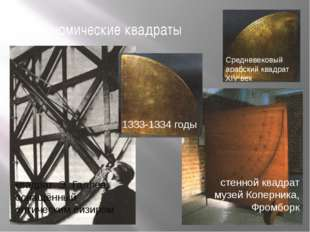 астрономические квадраты 1333-1334 годы Средневековый арабский квадрат XIV ве