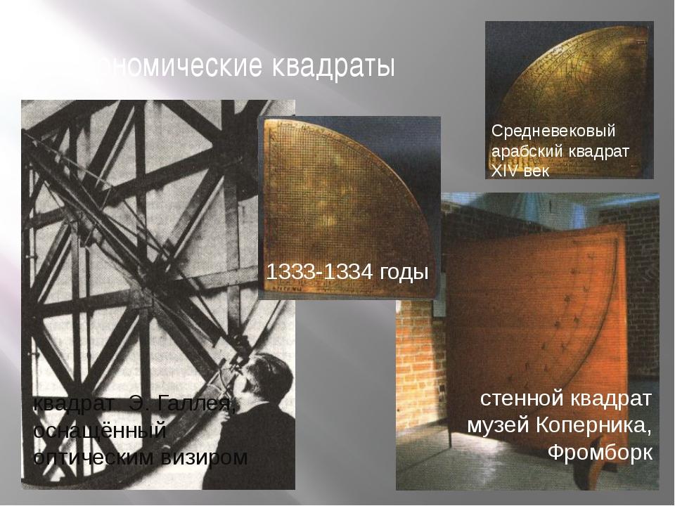 астрономические квадраты 1333-1334 годы Средневековый арабский квадрат XIV ве...