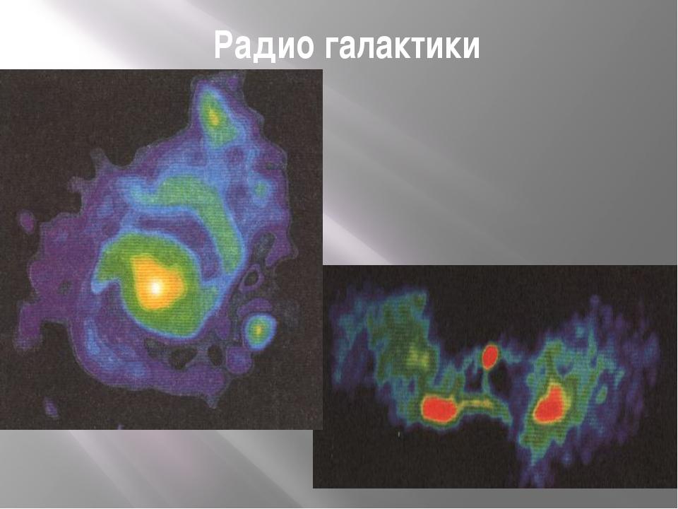 Радио галактики