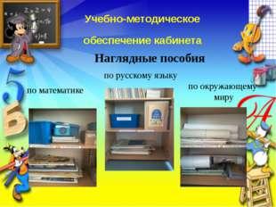Учебно-методическое обеспечение кабинета по математике по русскому языку по