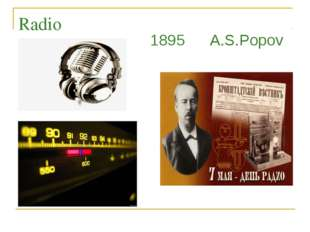 Radio 1895 A.S.Popov