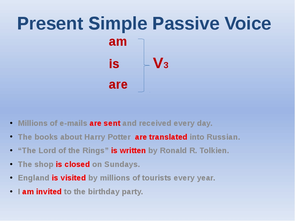 present tense and birthday