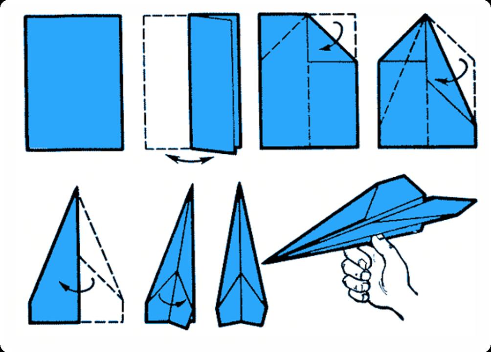 Как сделать самолет из бумаги, чтобы он далеко летал?
