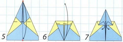 Как сделать самолет меченосец из бумаги