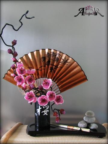 изготовление икебаны своими руками