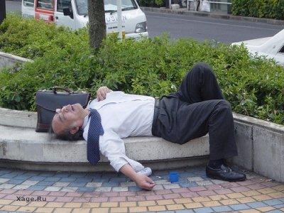 Работящие Японцы не просто миф